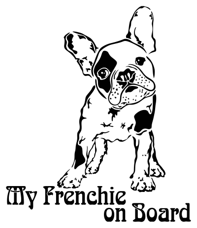 frenchie on board