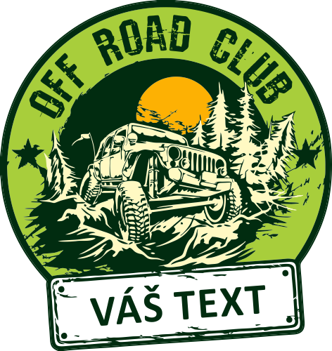 OFF ROAD Club - váš text