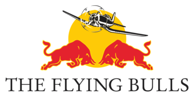 red bull flying
